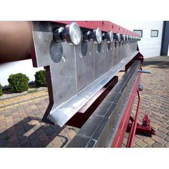 Segmentabkantbank, Klavierbank, Abkantbank mit Segmenten, Kantbank, Prod Masz, Hersteller 1450mm, Segment Schwenkbiegemaschine