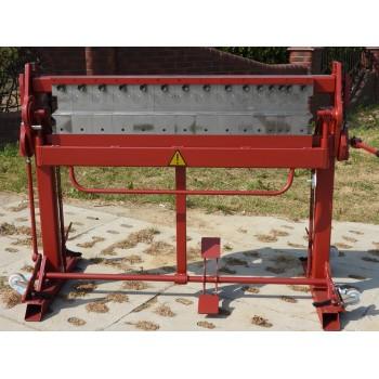 Segmentabkantbank, Klavierbank, Abkantbank mit Segmenten, Biegemaschine, Kantbank 1250mm Prod Masz, Segment Schwenkbiegemaschine
