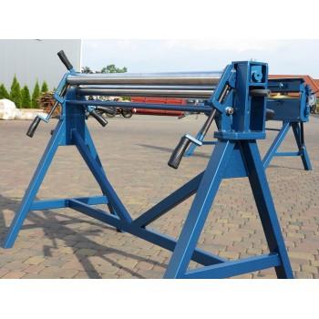 Manuelle 3-Walzen Rundmaschine, Rundbiegemaschine, Walzenrundmaschine 1300mm Prod-Masz Hersteller