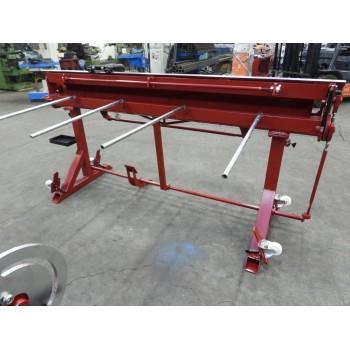 Abkantbank RED PLUS mit Fußpedal, Kantbank, Biegemaschine, Abkantmaschine, Blechbiegemaschine Prod-Masz