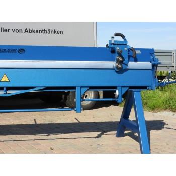 Manuelle Abkantbank, Kantbank, Schwenkbiegemaschine 3,14m/1.0mm Blechbiegemaschine, Abkantmaschine, Biegemaschine Prod-Masz