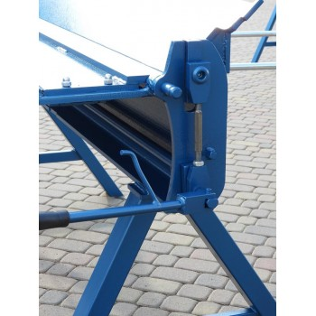 Verstärkte Abkantbank 2m zum Stahlblech bis 1.8mm, Kantbank, Biegemaschine, Schwenkbiegemaschine, Abkantmaschine Prod Masz