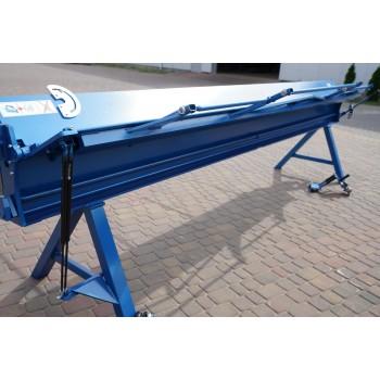 Manuelle Abkantbank 4m/0.7mm, Kantbank, Biegemaschine, Schwenkbiegemaschine, Blechbiegemaschine Prod-Masz, Abkantmaschine