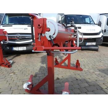 Professionelle Abkantbank RED-1400/1.2mm mit Aussparung, Kantbank, Schwenkbiegemaschine, Abkantmaschine, Biegemaschine Prod-Masz