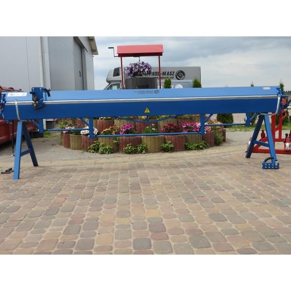 Abkantbank 3,5m/0.65mm, Kantbank, Biegemaschine, Schwenkbiegemaschine, Abkantmaschine, Blechbiegemaschine, Biegebank, Biegegerät