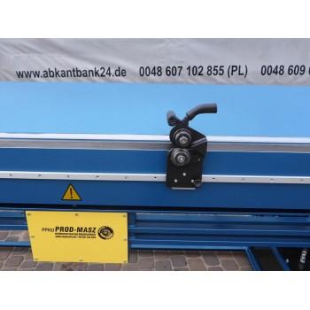 Hydraulische Abkantbank 3m/1.2mm, Kantbank, Biegemaschine, Blechbiegemaschine, Abkantmaschine, Schwenkbiegemaschine, Biegebank
