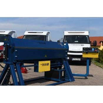 Hydraulische Abkantbank 2m/3.0mm, Kantbank, Biegemaschine, Schwenkbiegemaschine, Abkantmaschine, Biegebank, Blechbiegemaschine