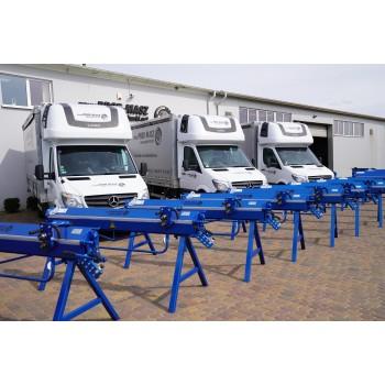 Abkantbank 2m/0.8mm, Kantbank, Biegemaschine, Abkantmaschine, Schwenkbiegemaschine, Blechbiegemaschine, Biegegerät Prod-Masz