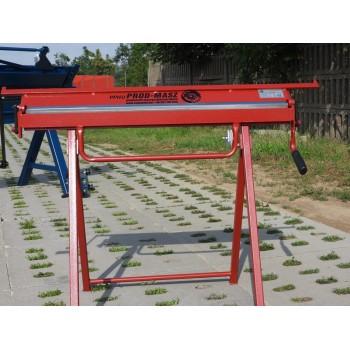Abkantbank 1020/0.8mm mit Wulstmaschine, Kantbank, Biegemaschine, Abkantmaschine, Schwenkbiegemaschine, Biegebank Prod-Masz