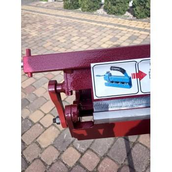 Abkantbank 1250/0.8 mit Wulstmaschine, Kantbank, Biegemaschine, Schwenkbiegemaschine, Abkantmaschine Prod-Masz, Biegegerät