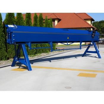 Manuelle Abkantbank, Schwenkbiegemaschine 4m, Kantbank, Abkantmaschine, Biegemaschine Prod-Masz
